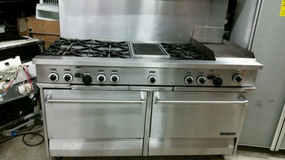 Garland R28412gricb Range With Vent A Hood Appliance