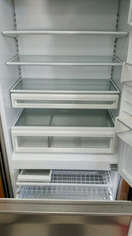 Sub Zero 650 Refrigerator Appliance Marshall Repair